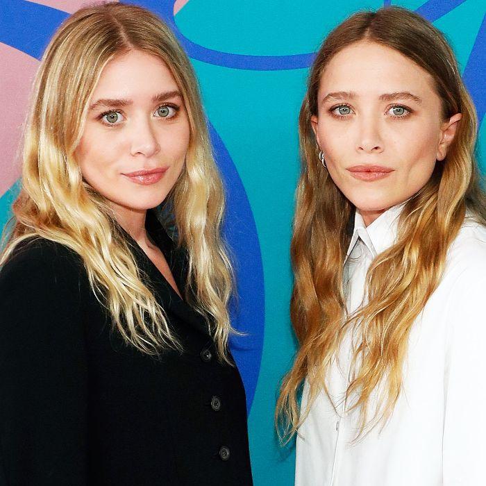 Mary-Kate and Ashley Olsen natural waves