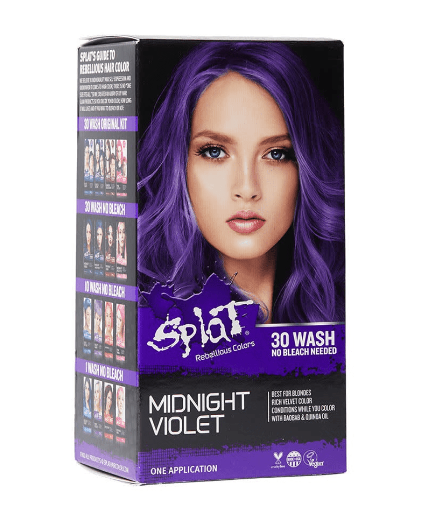 hair color for dark hair without bleach