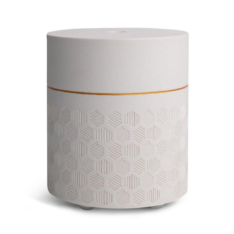 White tiled diffuser