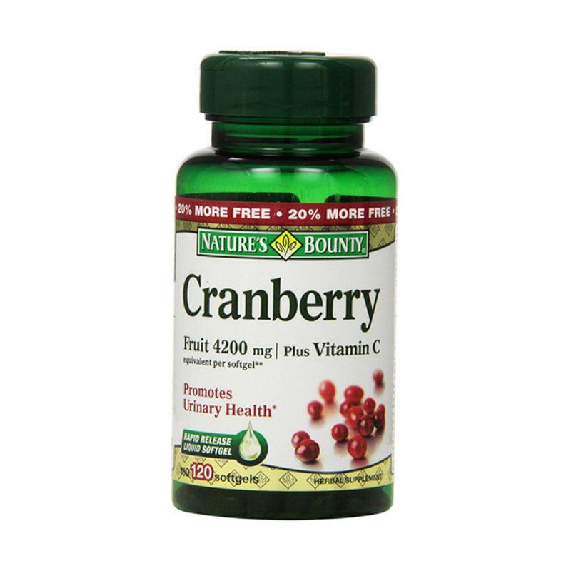 Cranberry softgels