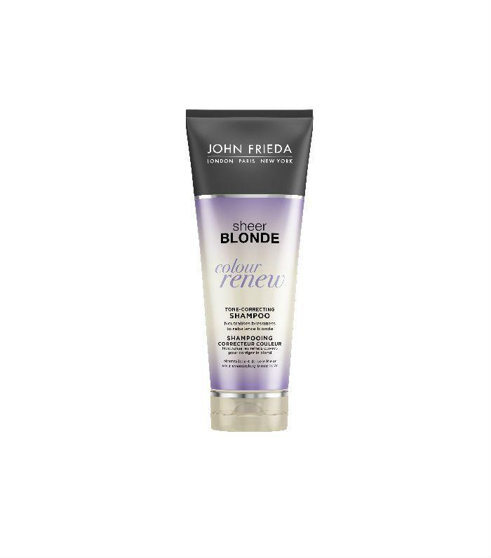 best purple toned shampoos: John Frieda Blonde Tone-Correcting Shampoo