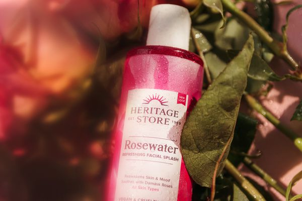 roses and rose water