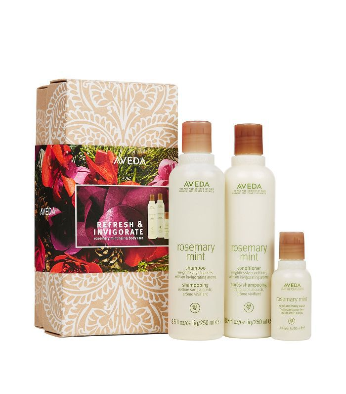 Christmas gift sets: Aveda Refresh & Invigorate Rosemary Mint Gift Set
