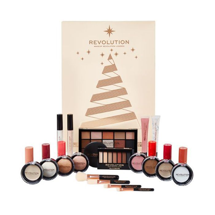 beauty advent calendar 2018: Makeup Revolution Advent Calendar