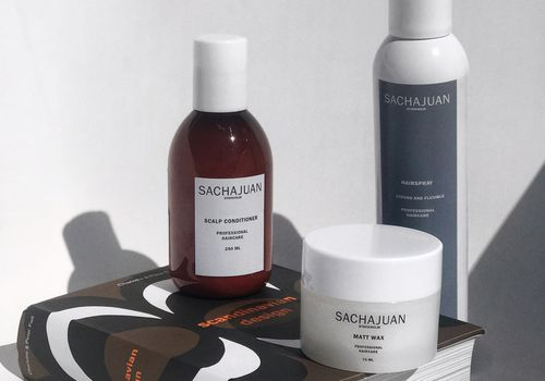 Sachajuan products and Scandinavian Design book
