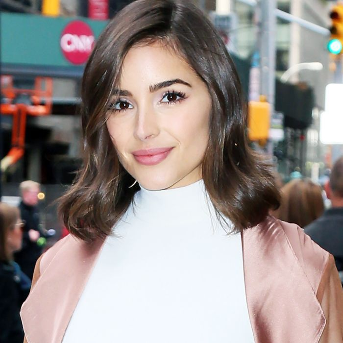 Olivia Culpo beauty tips: Olivia Culpo in Times Square, New York