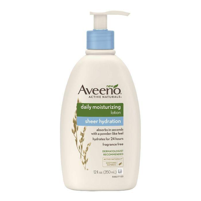 Aveeno Sheer Hydration Daily Moisturizing Lotion