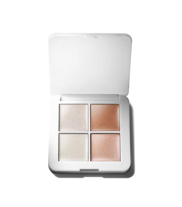 rms luminizer quad - dewy makeup looks