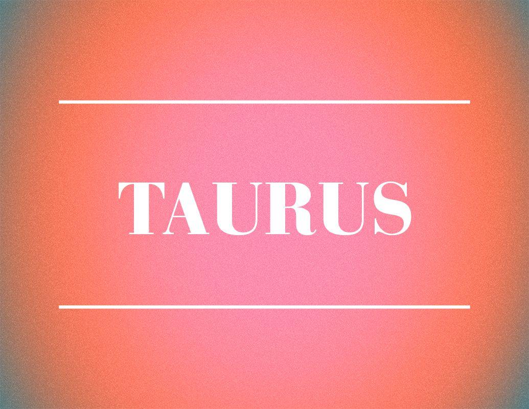 taurus zodiac sign design