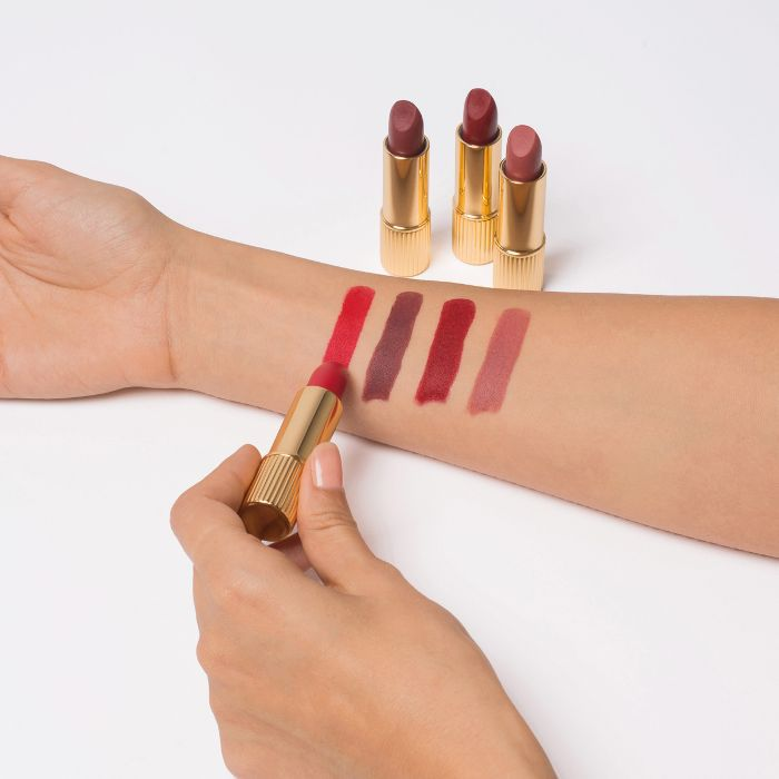 Lipstick Shades On Inner Wrist