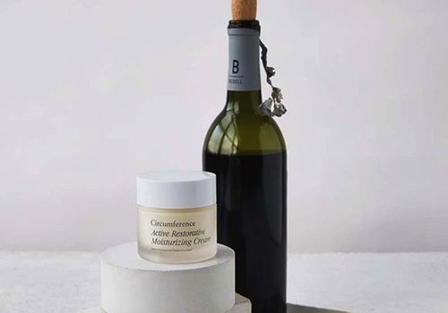 Circumference, moisturizer, wine