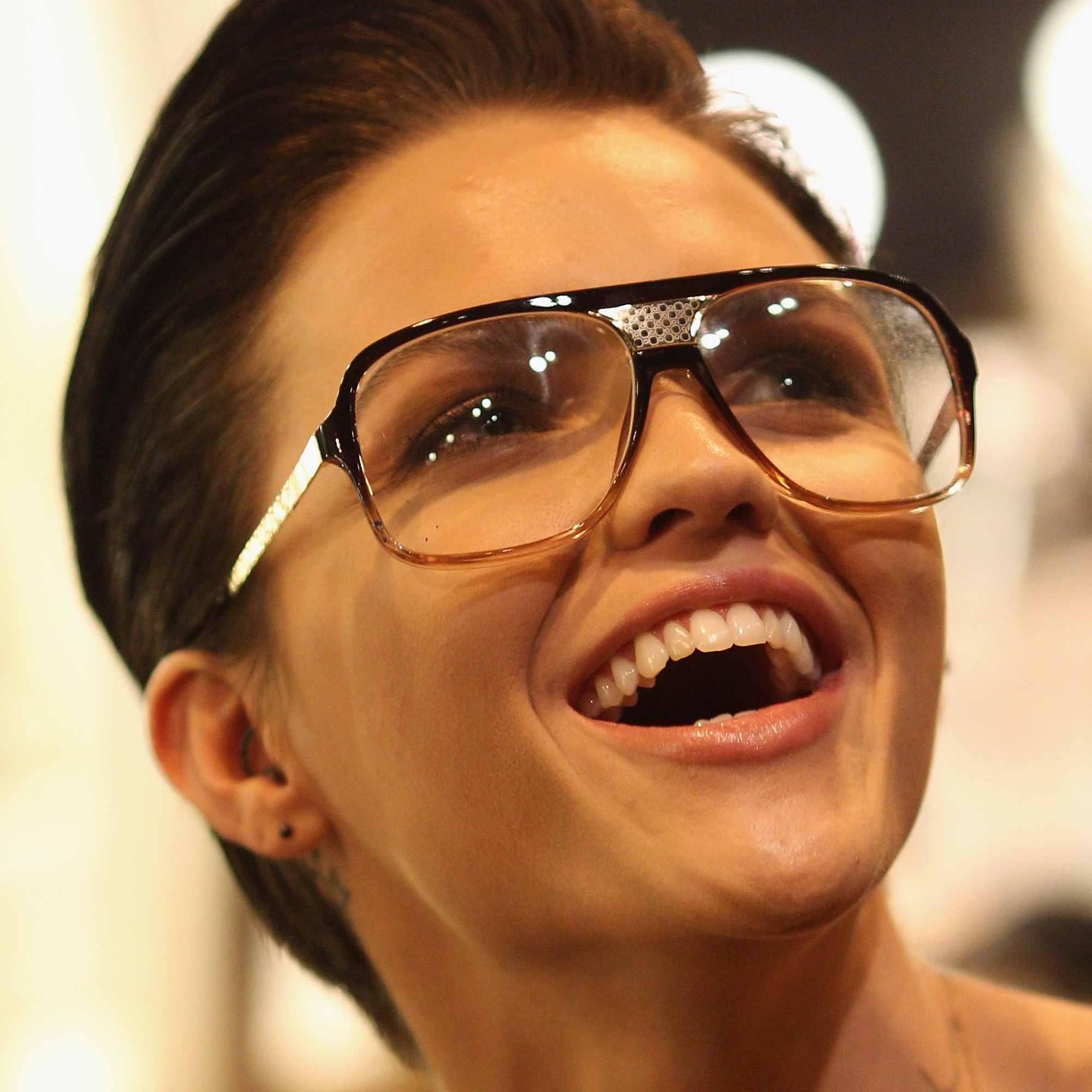Australian model and MTV VJ Ruby Rose