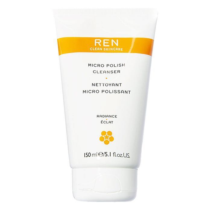 How to exfoliate: Ren Micro Polish Cleanser
