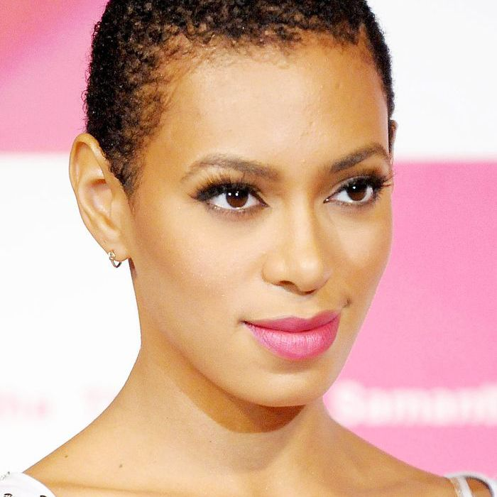 buzz-cut-women: Solange Knowles with a buzz cut