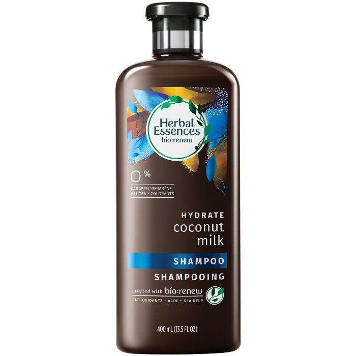 best shampoo for curly hair: Herbal Essences Bio:Renew Hydrating Shampoo Coconut Milk