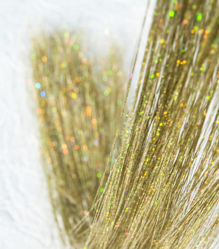 Goddess Glitter Hair Tinsel