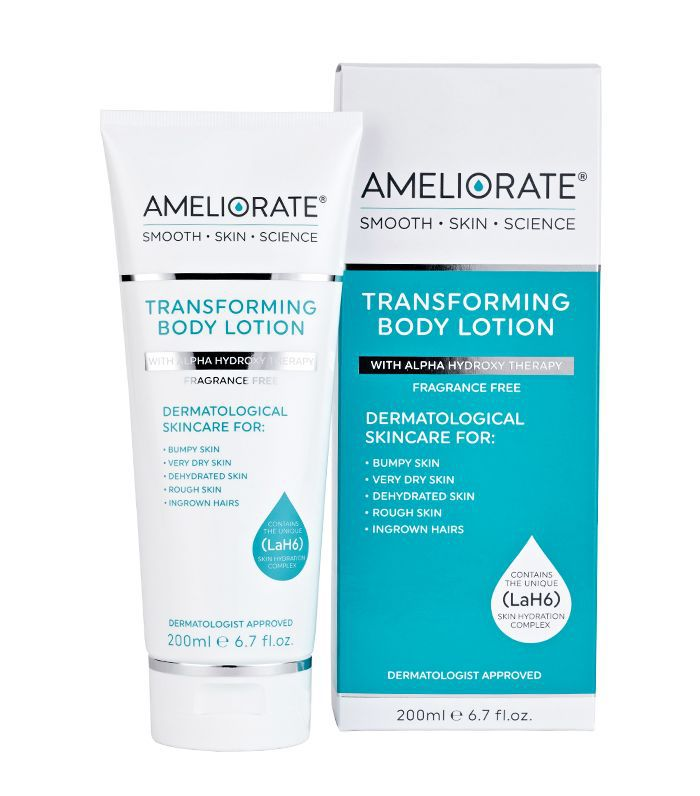 Best body lotion: Ameliorate Transforming Body Lotion Fragrance Free