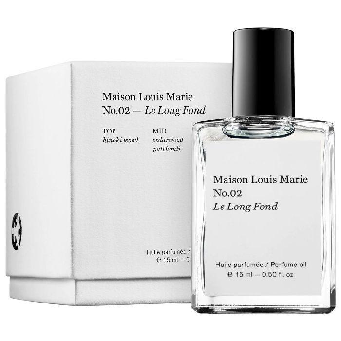No.02 Le Long Fond Perfume Oil 0.50 oz/ 15mL