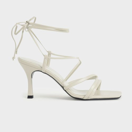 Charles and Keith Tie-Around Strappy Sandals