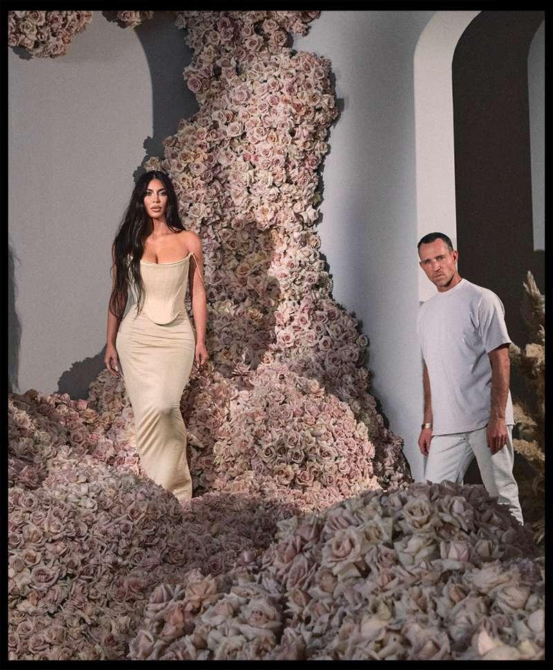 Kim Kardashian West and Jeff Leatham