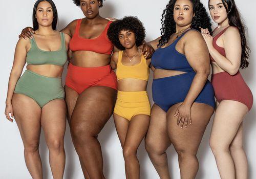 Body diversity group of women body sizes