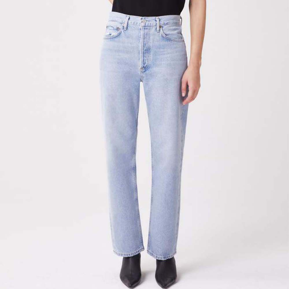 '90s Mid Rise Loose Fit Jeans