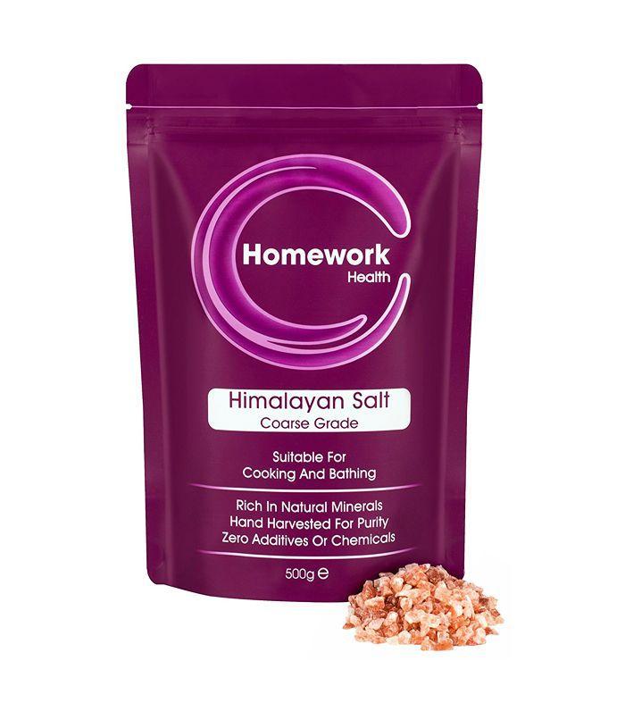 natural pain relief: Homework Health Himalayan Salt