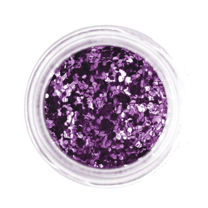 Minimal Glitter Violet 040