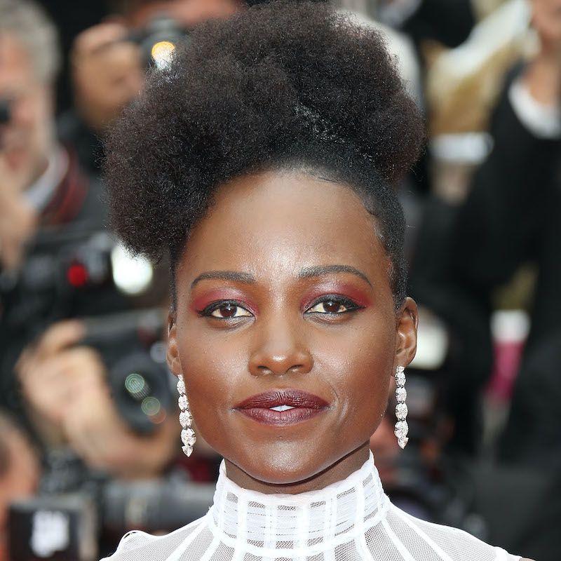 Short Medium Long Black Hairstyles Afro Puff Lupita Nyong'o
