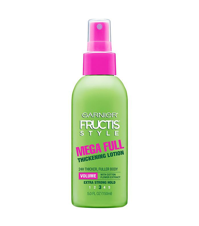 Fructis Style Mega Full Thickening Lotion, All Hair Types, 5 oz. (Packaging May Vary)