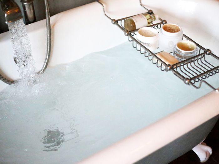 pursoma digital detox bath review: running bath