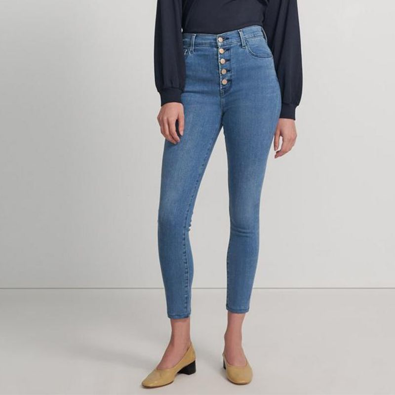 J Brand's Lillie High-Rise Crop Skinny