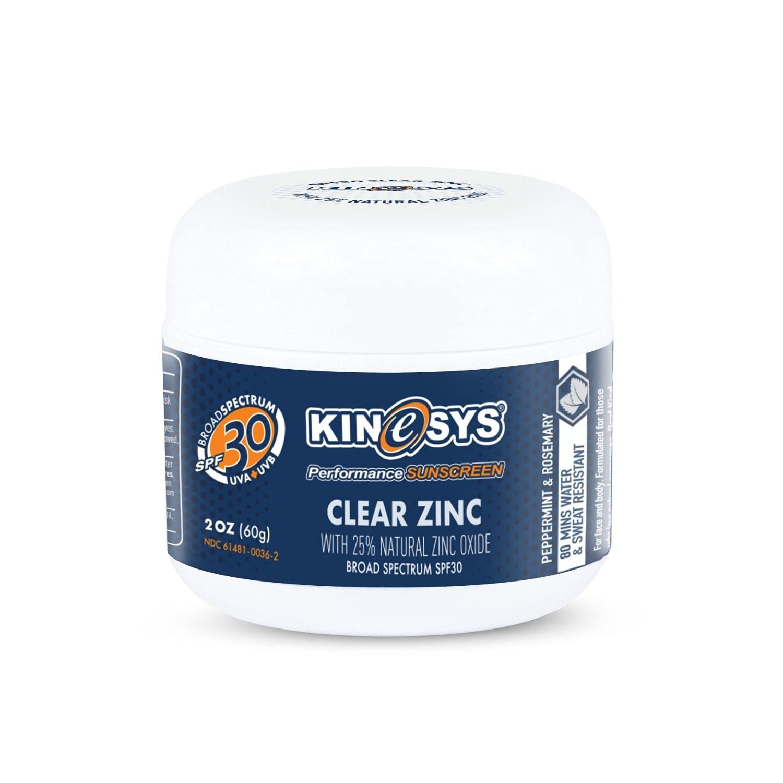 Kinesys Clear Zinc Broad Spectrum Sunscreen SPF 30