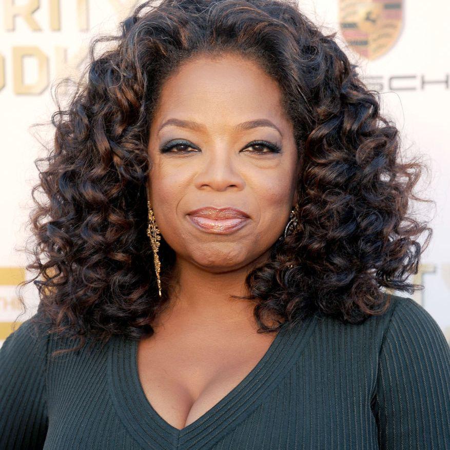 Oprah curly lob