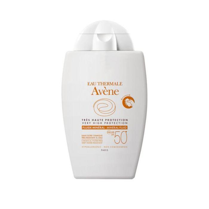 best sun cream: Avene Mineral Fluid SPF50+