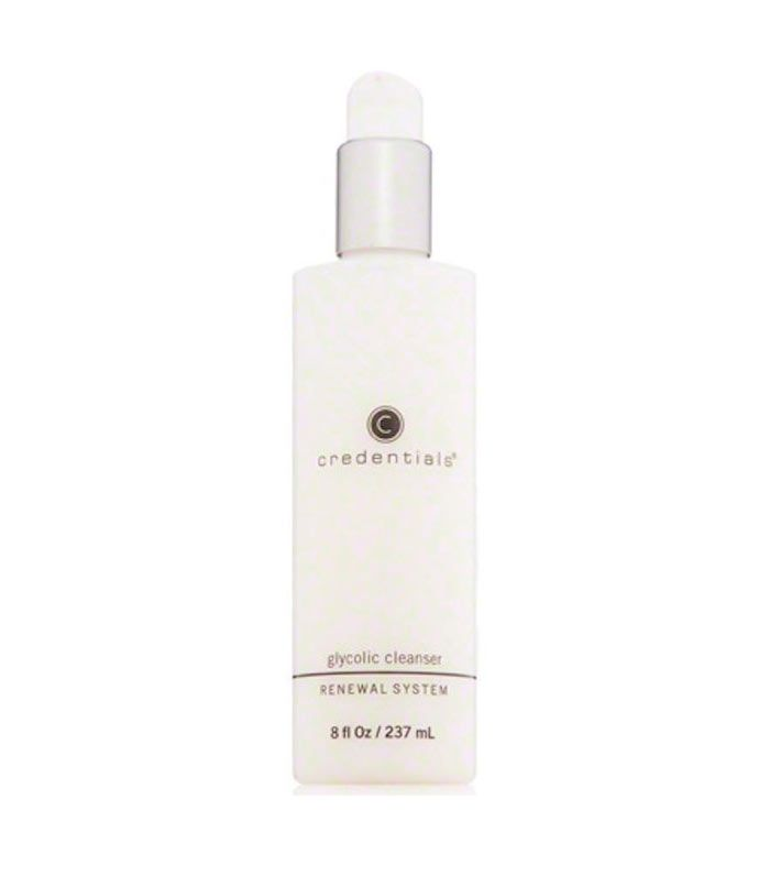 Credentials glycolic cleanser