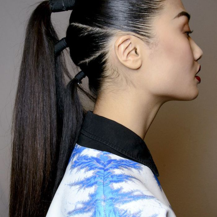 Long Ponytail Styles