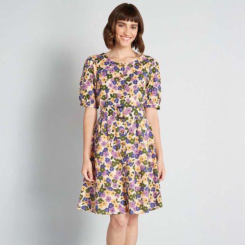 Boldest Blooms Belted A-Line Dress ($32.99)