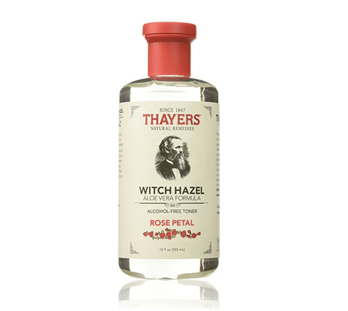 Thayer's Witch Hazel Alcohol-Free Toner with Rose Petal