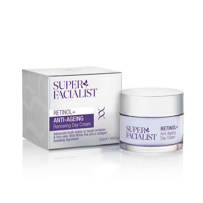best retinol cream: Super Facialist Retinol+ Anti-Ageing Day Cream