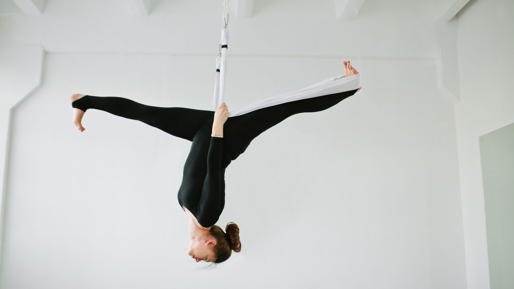 Here's Why Everyone Should Try Aerial Yoga