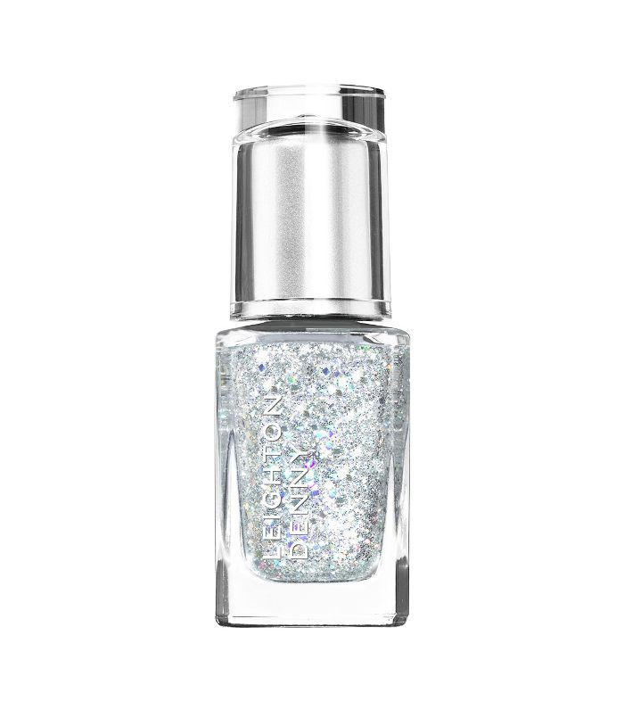 glitter nails: Leighton Denny Nail Polish in Twinkle Twinkle