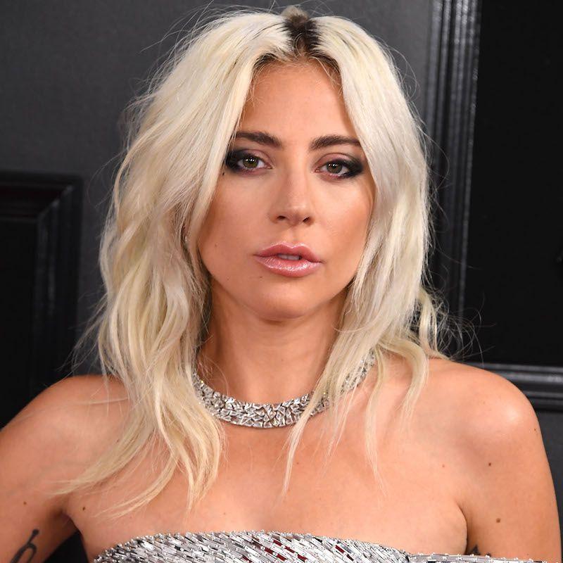 White Blonde Hair Lady Gaga