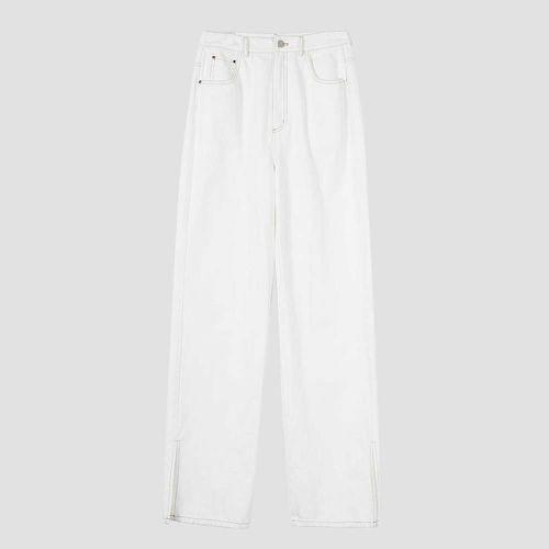 Morgan White Split Hem Jeans ($70)
