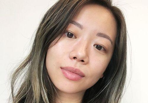 Editorial Director Faith Xue Makeup Free