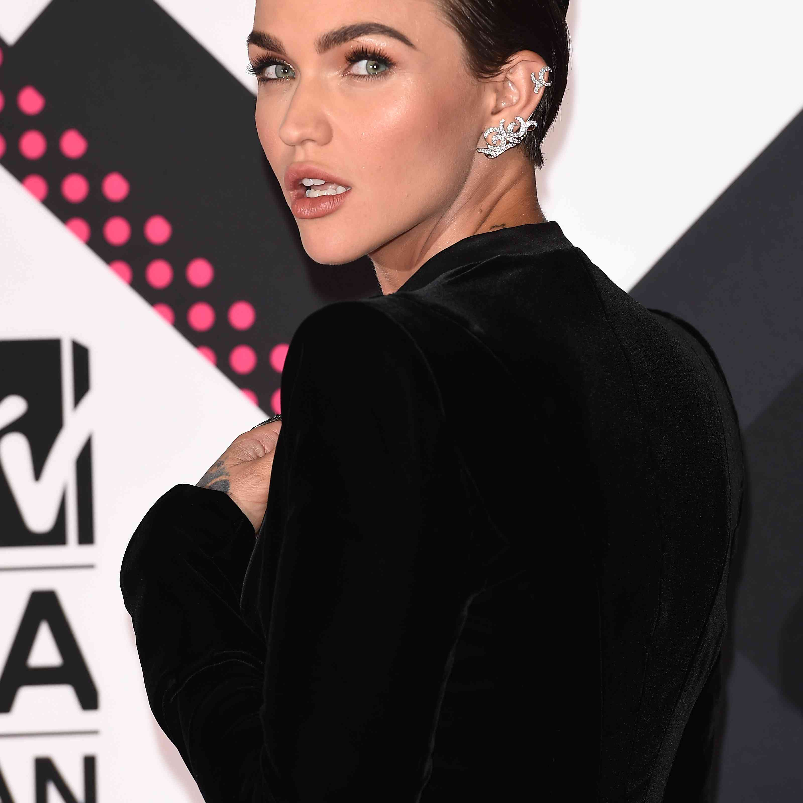 Ruby Rose's Double Braid