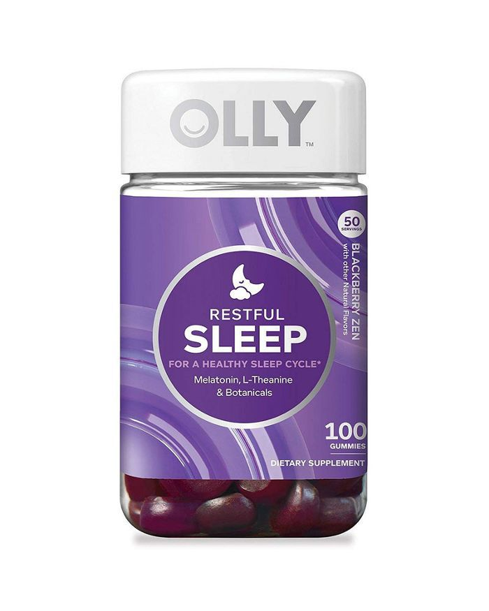 Olly Nutrition Restful Sleep Gummy Supplements