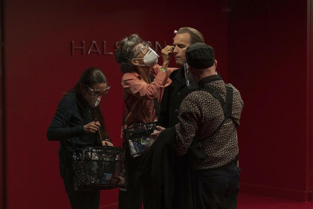 Halston show behind the scenes