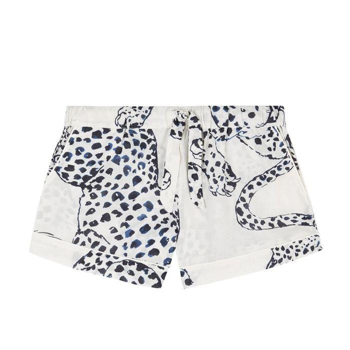 Desmond & Dempsey The Jag Print Shorts