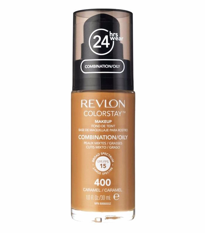 Best drugstore foundation for combination skin: Revlon Colorstay Makeup for Combination/Oily Skin